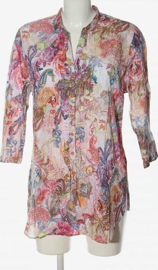 ERFO Hemd-Bluse in XL in blau / pastellgelb / pink, Produktansicht