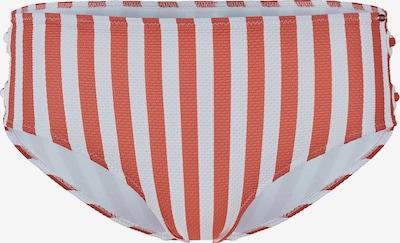 Skiny Bikinihose in rostbraun / weiß, Produktansicht