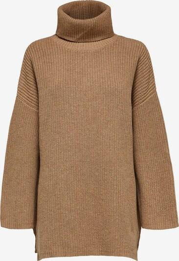 SELECTED FEMME Stehkragen Pullover in braun, Produktansicht
