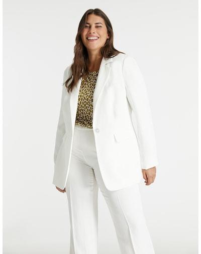 SAMOON Блейзър в бял памук, Преглед на модела