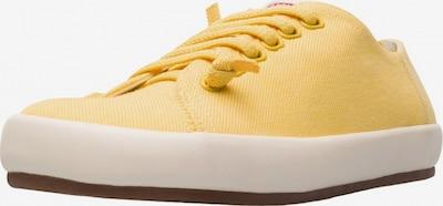 CAMPER Baskets basses ' Peu Rambla' en jaune, Vue avec produit