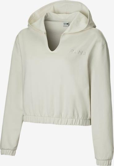 PUMA Sweat-shirt en blanc, Vue avec produit