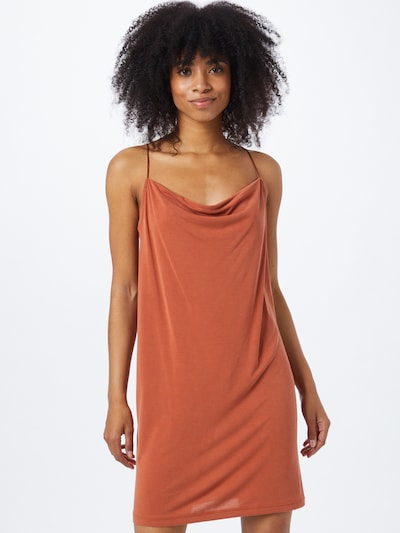 ONLY Kleid in rostbraun, Modelansicht
