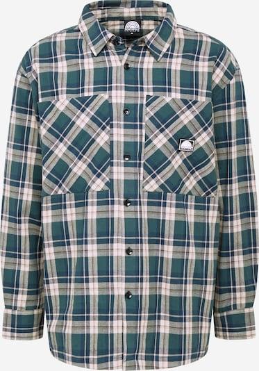 Dalykiniai marškiniai iš SOUTHPOLE , spalva - smėlio / žalia, Prekių apžvalga