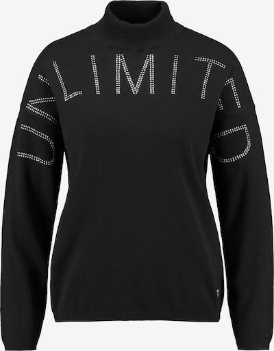 Key Largo Pullover in schwarz / silber, Produktansicht