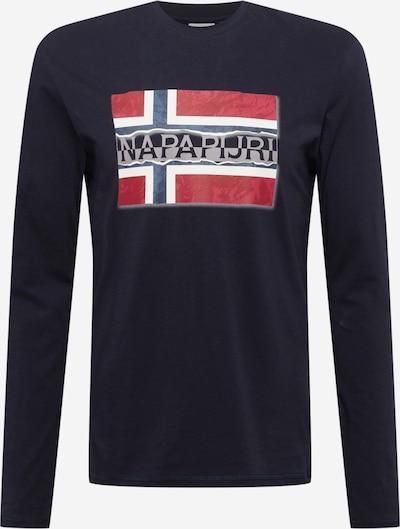 NAPAPIJRI Tričko - tmavomodrá / červená / biela, Produkt