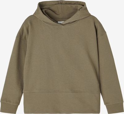NAME IT Sweatshirt 'Danita' in khaki, Produktansicht