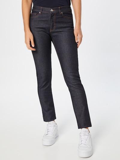 BOSS Casual Jeans in dunkelblau, Modelansicht