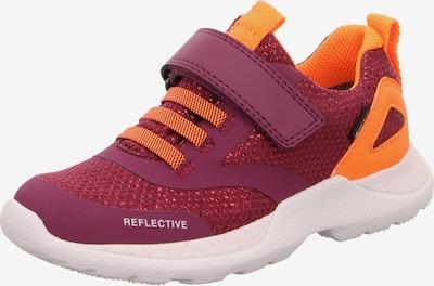SUPERFIT Schuhe 'RUSH' in orange / rot, Produktansicht