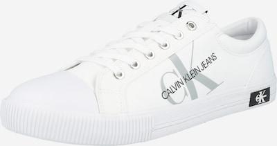 Calvin Klein Baskets basses en gris clair / noir / blanc, Vue avec produit