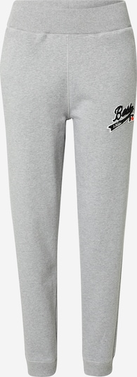 BOSS Pants 'C_Ejoy_Russell Athletics' in mottled grey / Red / Black / White, Item view