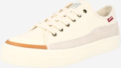 krém / világosszürke LEVI'S Rövid szárú edzőcipők 'SQUARE', Termék nézet