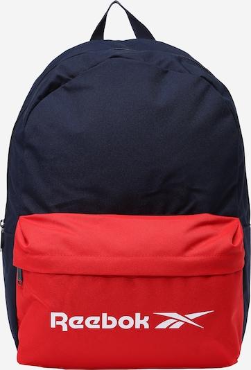 Reebok Sport Sportrucksack in navy / rot / weiß, Produktansicht