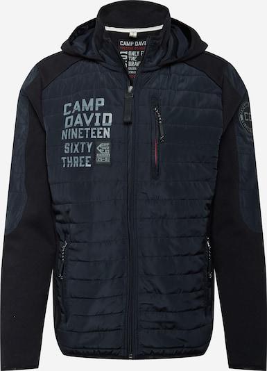 CAMP DAVID Bluza rozpinana w kolorze czarnym, Podgląd produktu