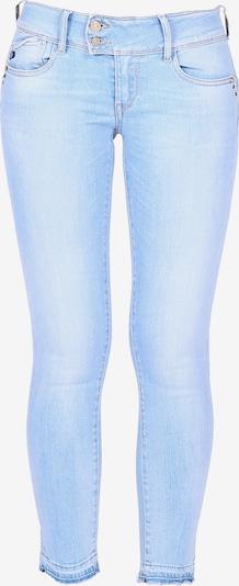 Le Temps Des Cerises Jeanshose PULPC mit ausgefallenem Bund in blau, Produktansicht