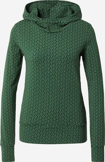 Blutsgeschwister Sweatshirt 'Hummel Hummel' in Grass green / Dark green / White, Item view