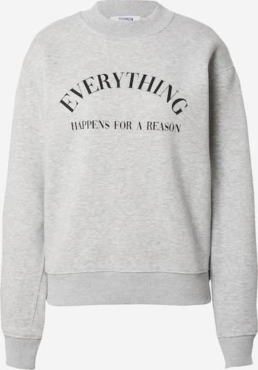ABOUT YOU Limited Sweatshirt 'Kira' by Luisa in graumeliert, Produktansicht