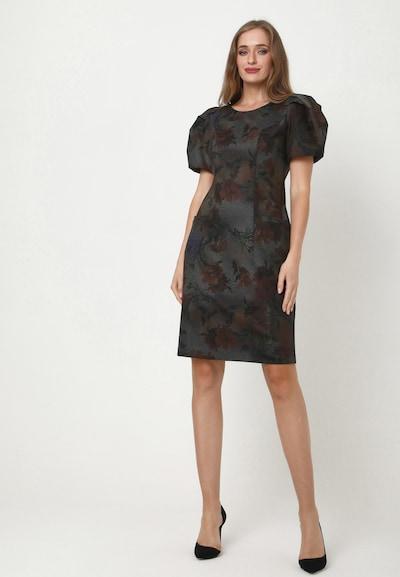 Madam-T Kleid 'ANGELICA' in grau, Modelansicht