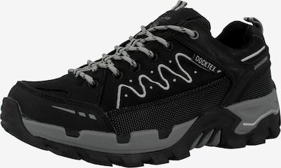 Dockers by Gerli Lage schoen '49LC202' in de kleur Antraciet / Zwart, Productweergave