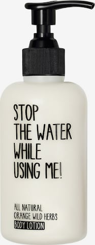 STOP THE WATER WHILE USING ME! Body Lotion 'Orange Wild Herbs' in