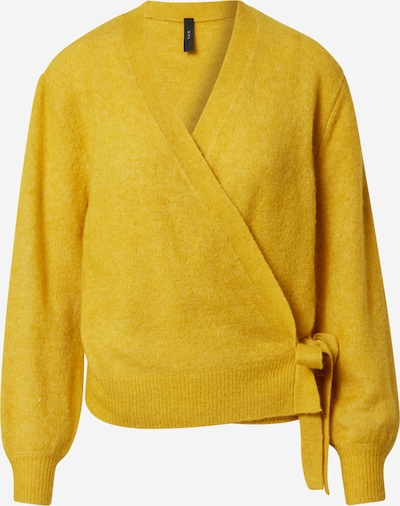 Y.A.S Cardigan en citron, Vue avec produit