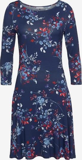 TAMARIS Kleid in hellblau / dunkelblau / rot / weiß, Produktansicht
