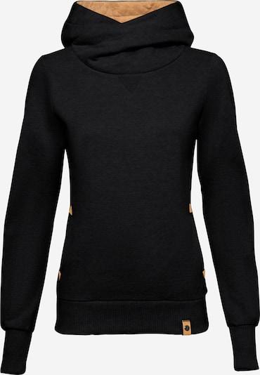 Fli Papigu Hoodie 'U Sexy I am Sexy' in schwarz: Frontalansicht