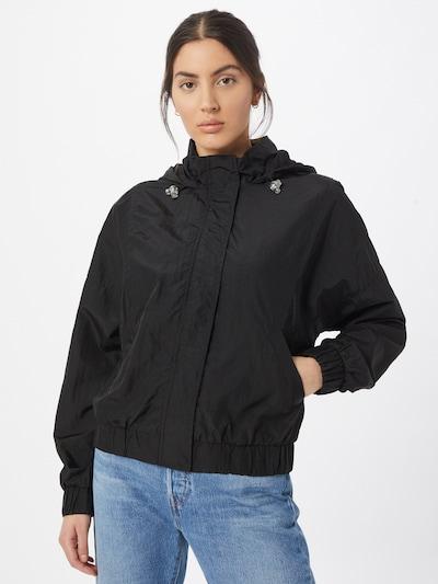 Urban Classics Jacke in schwarz: Frontalansicht