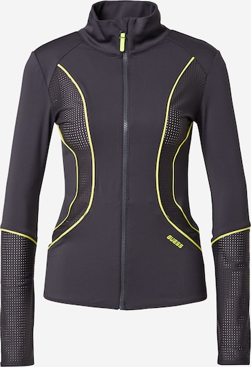 GUESS Športna jakna 'AMETHYST' | neonsko rumena / temno siva barva, Prikaz izdelka