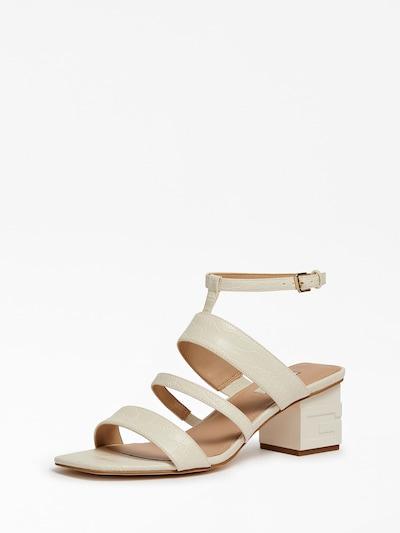 GUESS Sandale in creme / weiß, Produktansicht