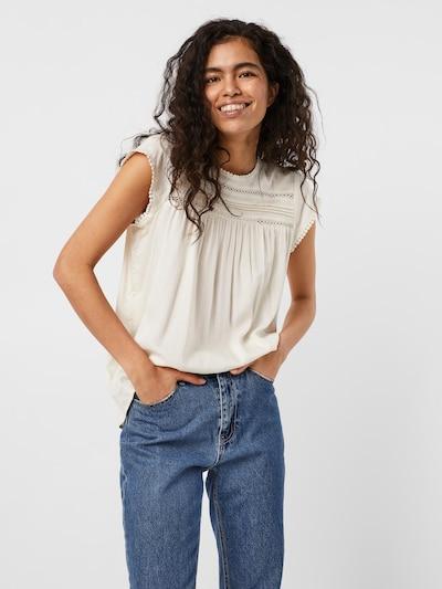 VERO MODA Bluse 'Debbie' in weiß, Modelansicht
