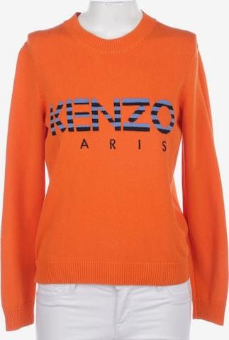 KENZO Pullover / Strickjacke in M in Orange