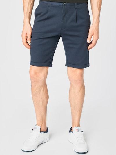 Lindbergh Plisované nohavice - tmavomodrá / tmavomodrá, Model/-ka
