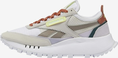 Reebok Classic Sneaker 'Legacy' in beige / ecru / gelb / pastellrot / weiß, Produktansicht