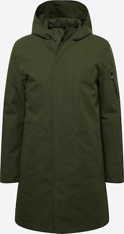 Manteau mi-saison 'GLOBE III' g-lab en vert