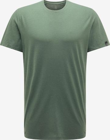 T-Shirt fonctionnel 'Träd' Haglöfs en vert