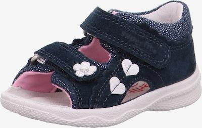 SUPERFIT Sandaalit 'POLLY' värissä laivastonsininen / valkoinen, Tuotenäkymä