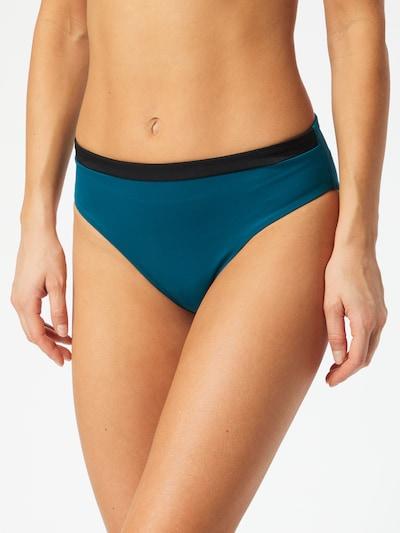 Bikinio kelnaitės 'Shore Kosrae' iš SLOGGI , spalva - benzino spalva / juoda, Modelio vaizdas