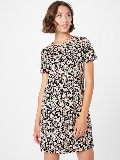 ONLY Šaty 'POP TRASH' - mátová / korálová / růžová / černá, Model/ka