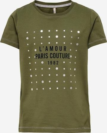 T-Shirt ONLY en vert