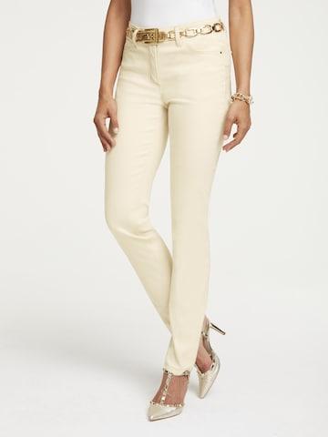 heine Jeans in Beige