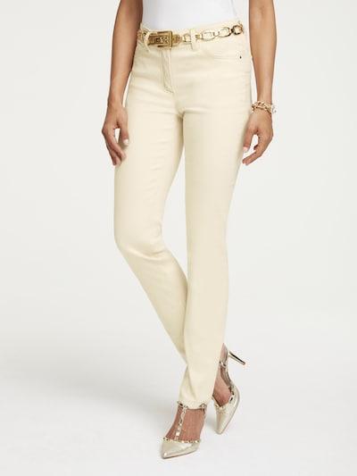heine Jeans in creme, Modelansicht