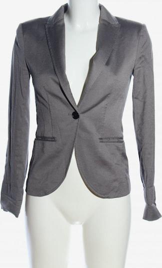 H&M Kurz-Blazer in XS in hellgrau: Frontalansicht