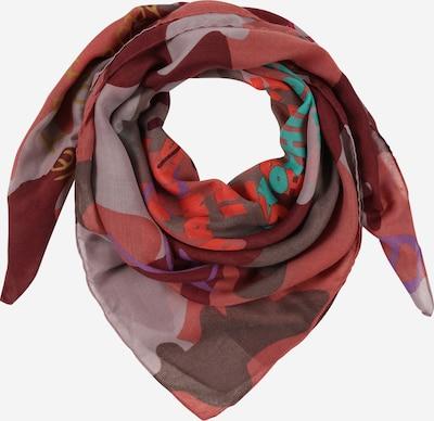 CODELLO Shawl 'Summer Darks' in brown / rose / light pink, Item view