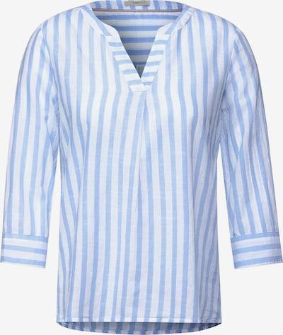 CECIL Bluse in blau / weiß, Produktansicht