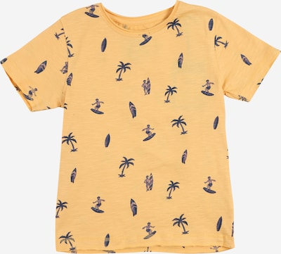 BASEFIELD T-Shirt en bleu marine / orange, Vue avec produit