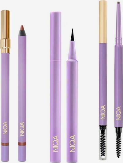 NIQA COSMETICS Make-Up Set NIQA ESSIANTIALS SET in braun / schwarz, Produktansicht