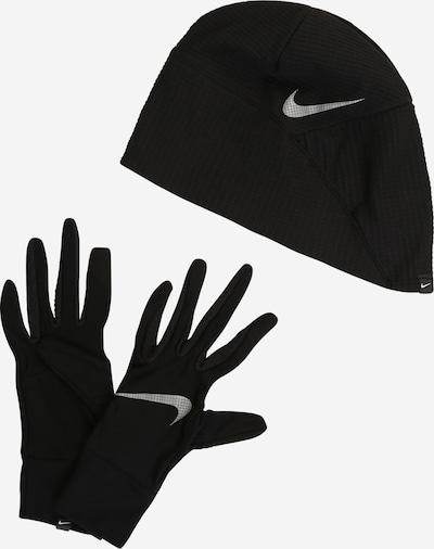 NIKE Accessoires Sportmütze + Sporthandschuh in schwarz, Produktansicht