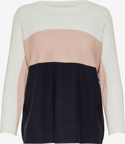 ONLY Pullover in blau / rosa / weiß, Produktansicht
