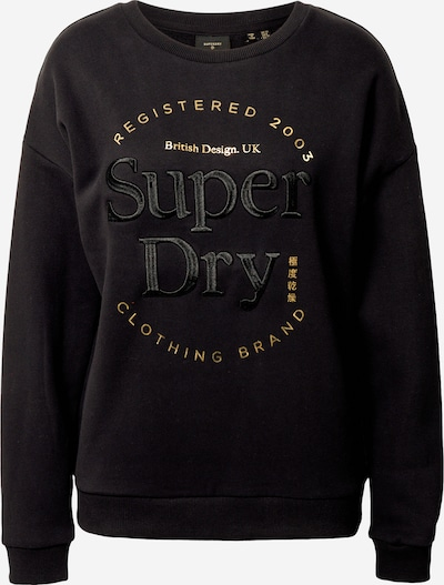 Superdry Sweatshirt in schwarz, Produktansicht